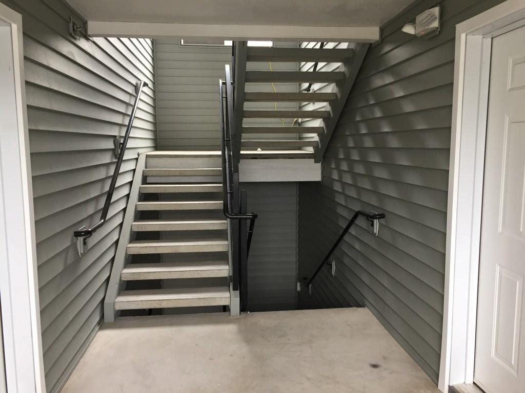 stairwell B
