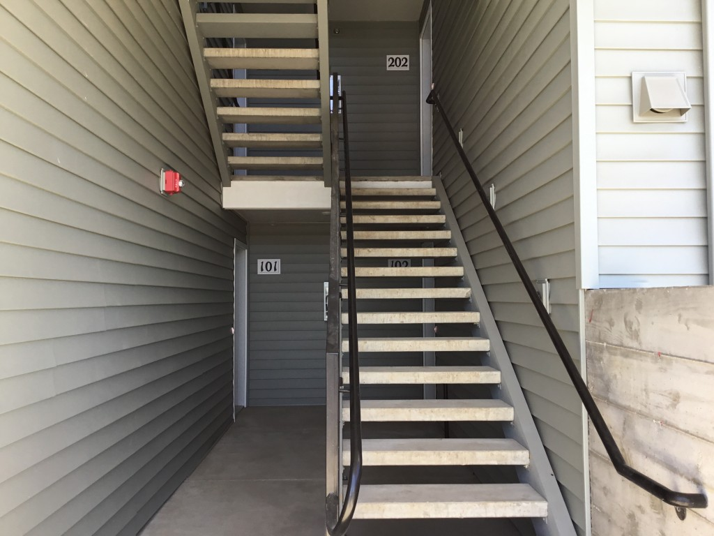Building A stairwell