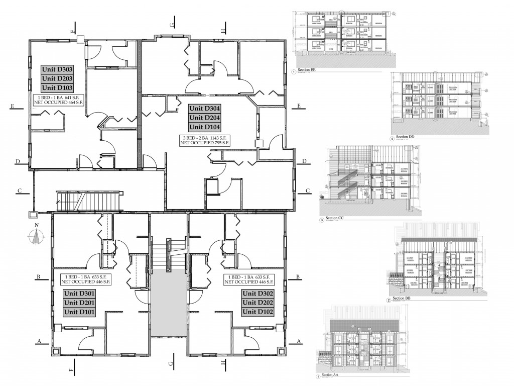 Building D layout