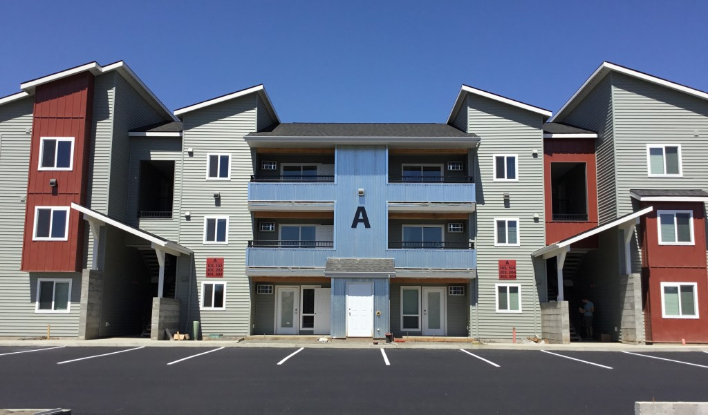 Building A - apartments in Pullman