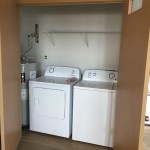 Building B washer and dryer