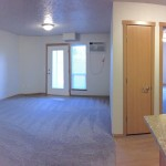 panorama of 3 bedroom apartment